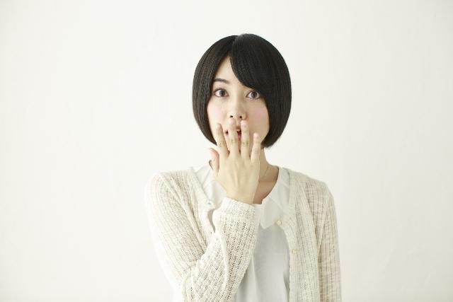 驚く日本人女性4